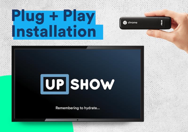 UPshow Logiciel - 1