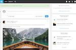 Open Social screenshot: Open Social homepage
