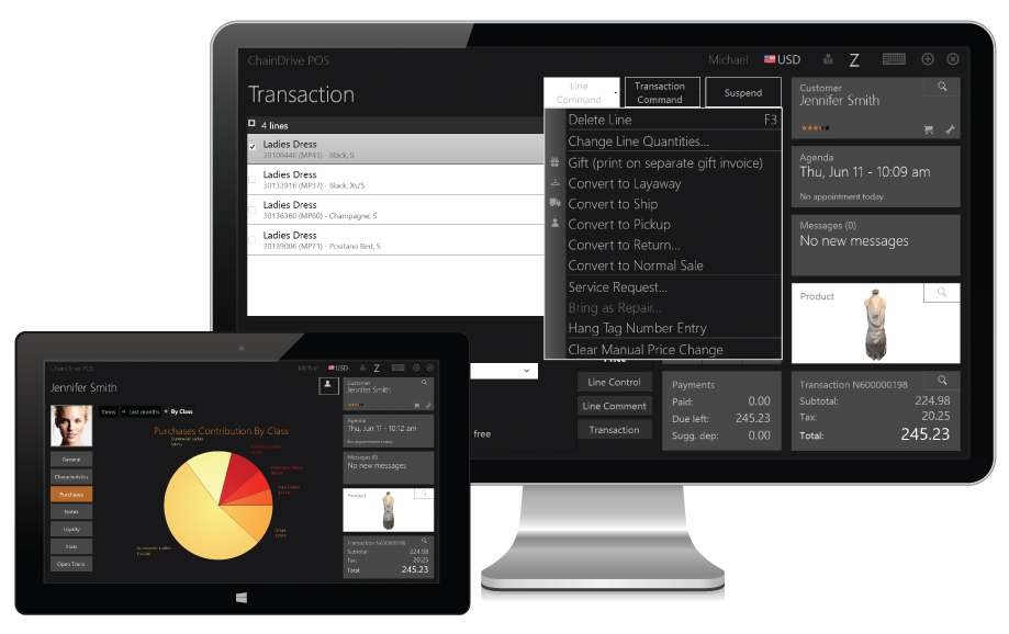ChainDrive Retail Management Software