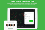 Nobly screenshot: Restaurants and bars can benefit from the table service feature within Nobly