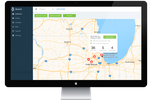 Branch Screenshot: Users can view per-location reports through the dashboard