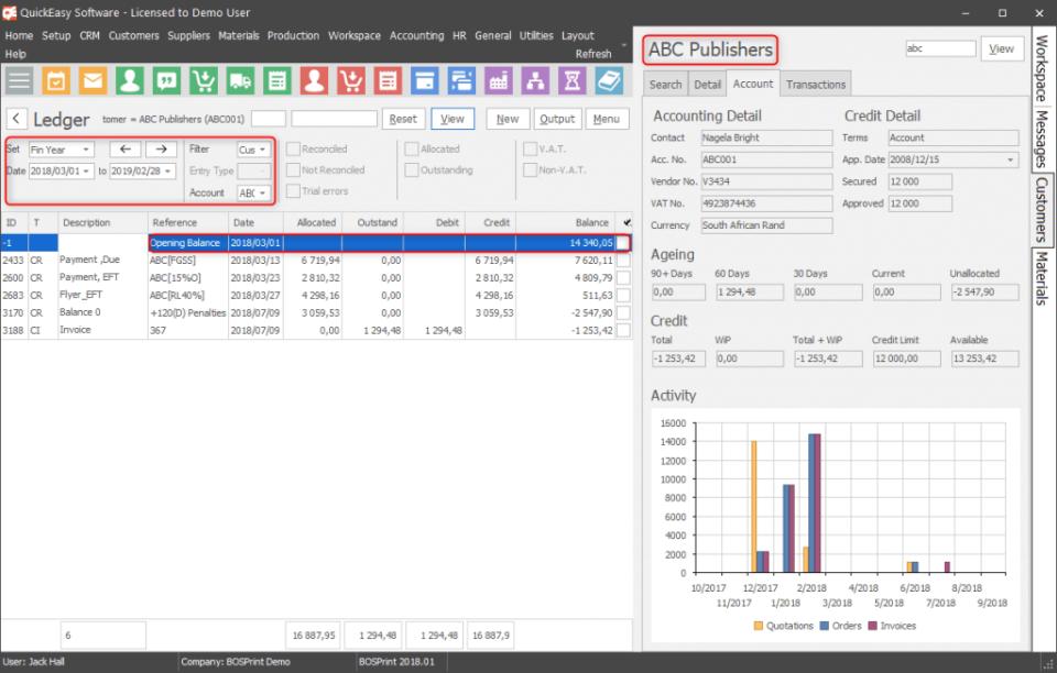BOSPrint Software - 2