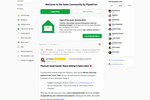 Tribe Screenshot: Pipedrive Sales Community designed for customers as well as sales and marketing people.