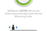 "AlertMedia screenshot: AlertMedia ""zero-button"" safety app"