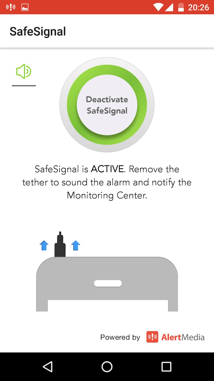 """AlertMedia """"zero-button"""" safety app"""