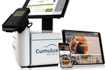 Cumulus Retail screenshot: Convert your point of sale into a kiosk or mobile POS with the MePOS Pro. Together with Celerant, the MePOS supports mobile EMV processing and the tablet can be detached to process sales from anywhere- on sales floor, tent sales, trade shows, etc.