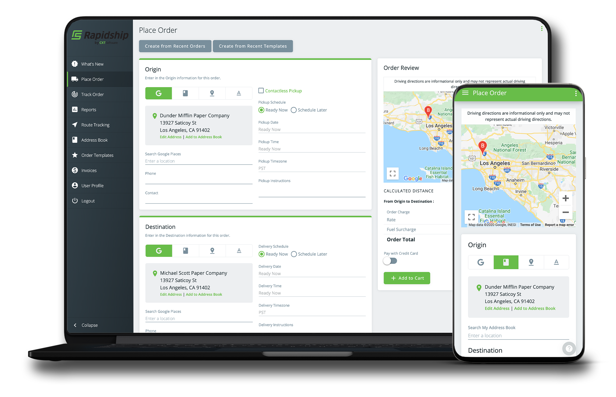 The client portal runs on all device types providing your customers the flexibility to connect with you on all their devices.