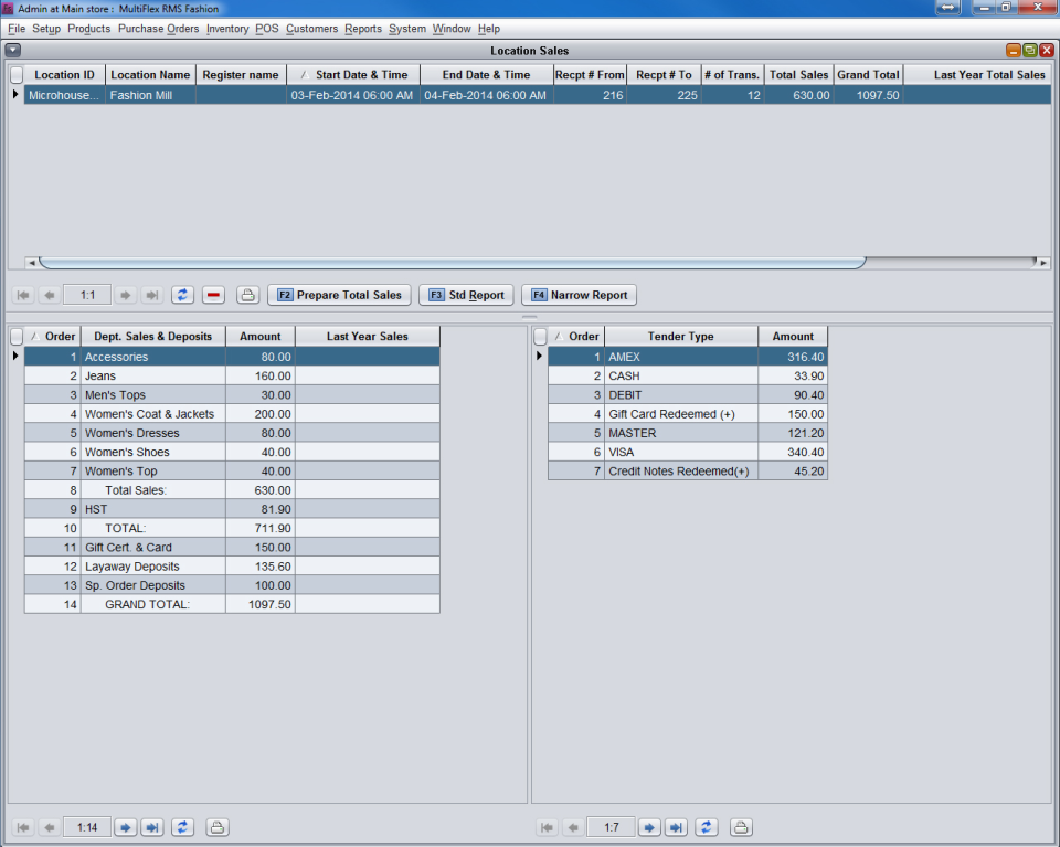 MultiFlex RMS Software - 3