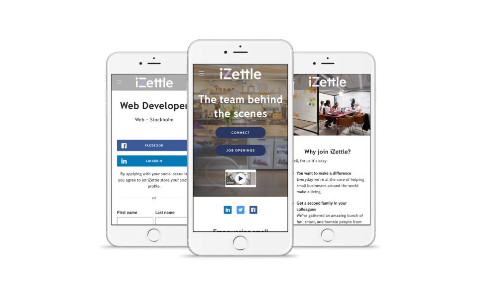 Teamtailor mobile application