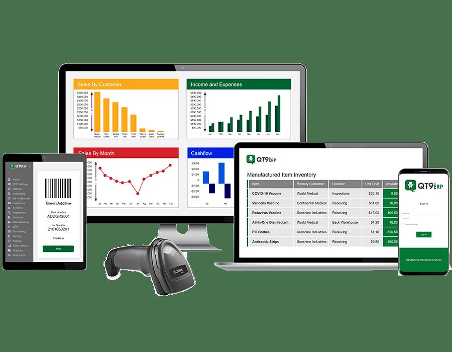 QT9 ERP Software - 2