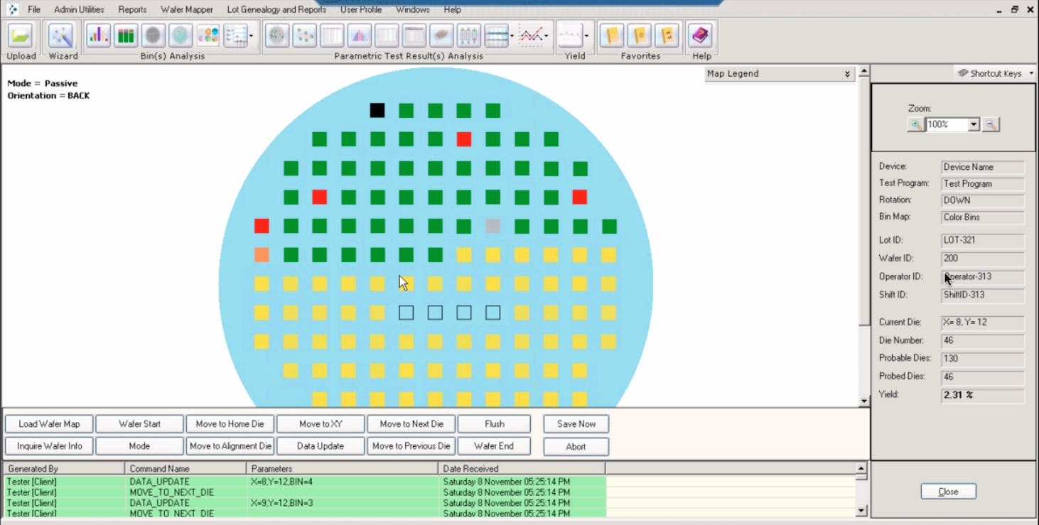 yieldWerx Software - Mapping