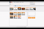 Capture d'écran pour The TV Sign : Users can create playlists and manage the order of slides