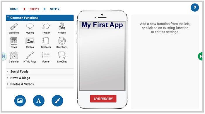 Customizing app design