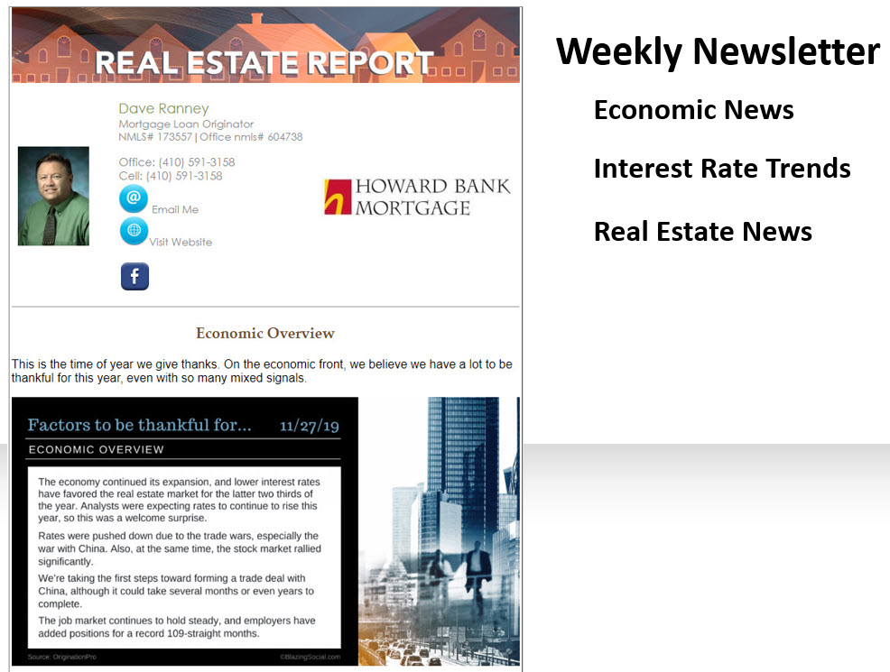 Weekly Real Estate Report