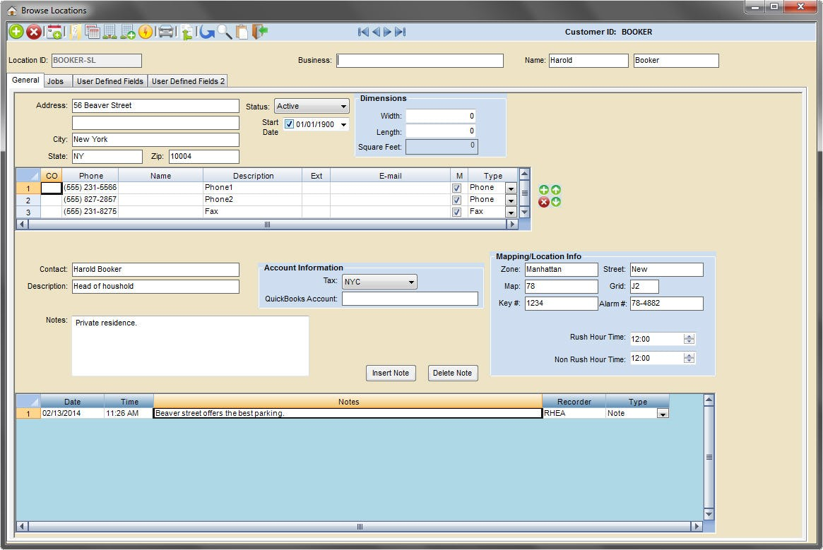 Scheduling Manager Software - Multiple locations