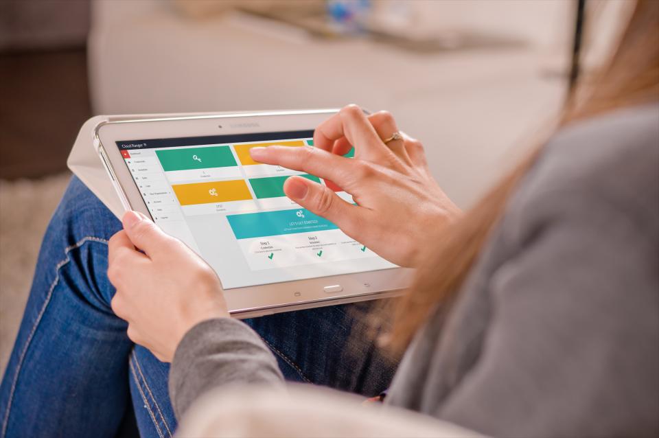 Access CloudRanger via tablet device