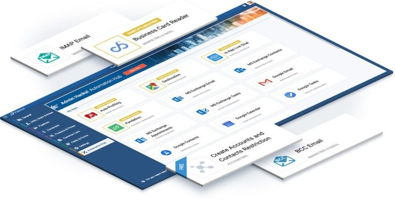 Pipeliner CRM Software - Integrates with everything