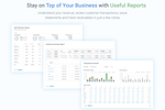 Avaza screenshot: Stay on top of project reporting!