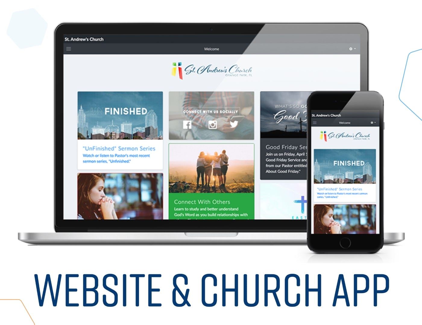 ChurchTrac Software - Website & Church App