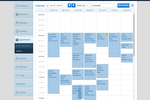 GroomPro POS screenshot: View your entire team schedule or just an individual staff member at a glance
