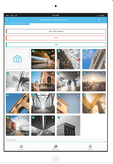 audits.io add pictures