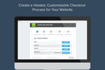 Rerun screenshot: Create a hosted, customizable checkout process.