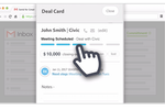 Sortd for Sales screenshot: Keep track of everything, including contacts, notes and next steps