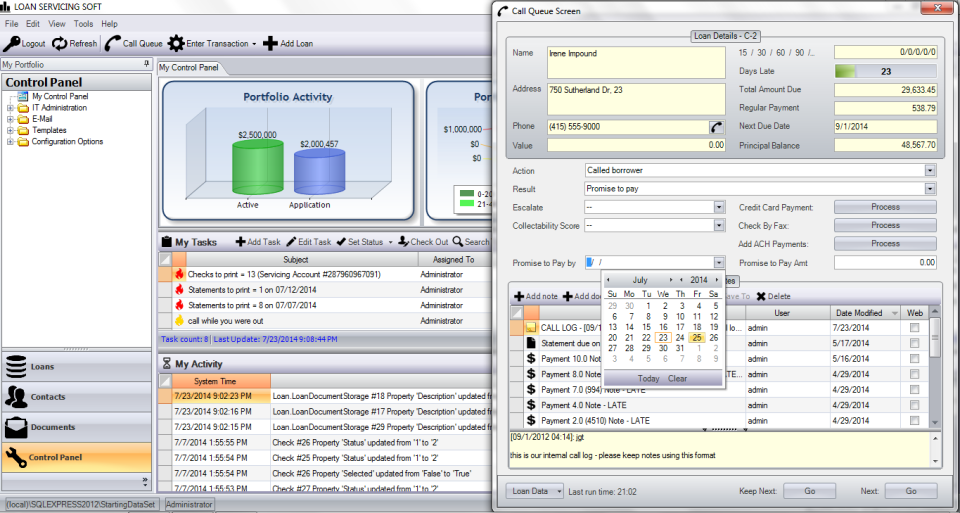 LOAN SERVICING SOFT Software - 3