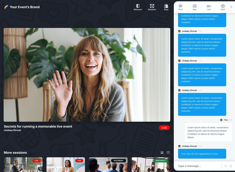Jumbo screenshot: Jumbo live streaming