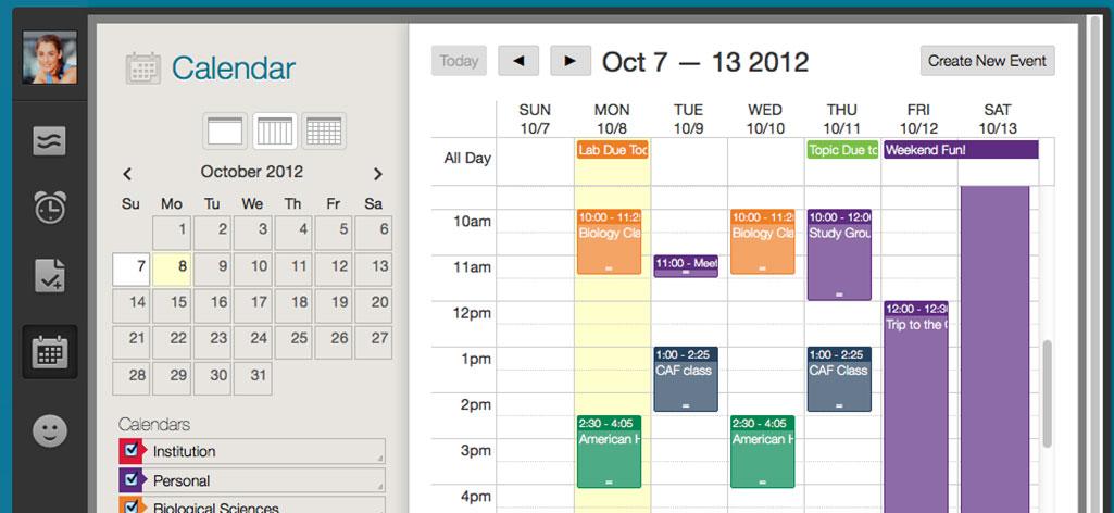 Blackboard Learn Software - Calendar