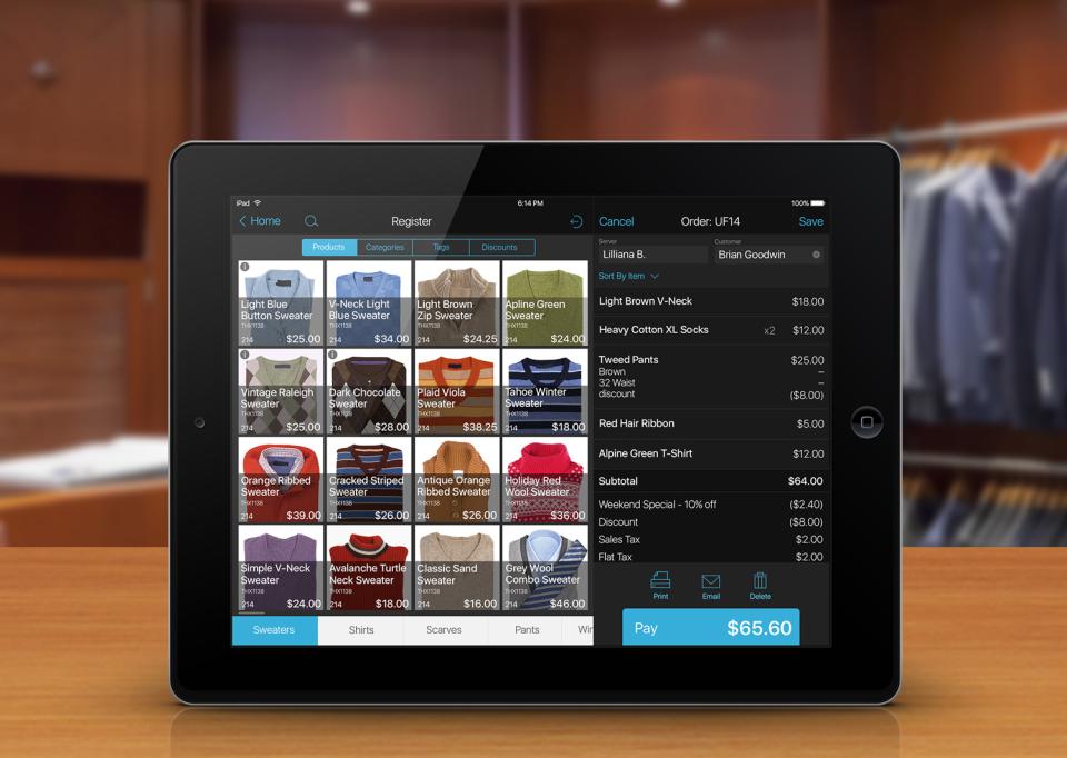 talech iPad Point of Sale