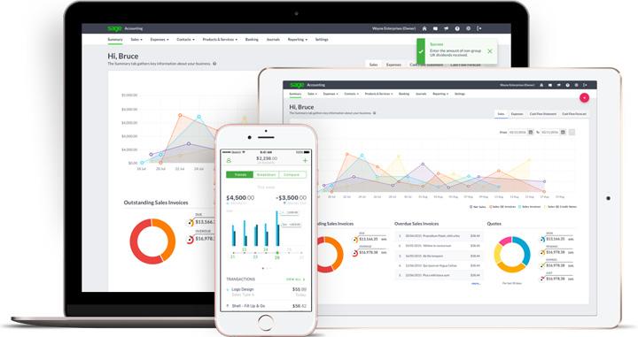 Sage Business Cloud Accounting Logiciel - 1