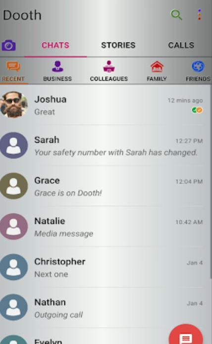 Dooth Vault chats