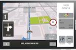 Teletrac Navman DIRECTOR screenshot: Teletrac- Navigation window on mobile device