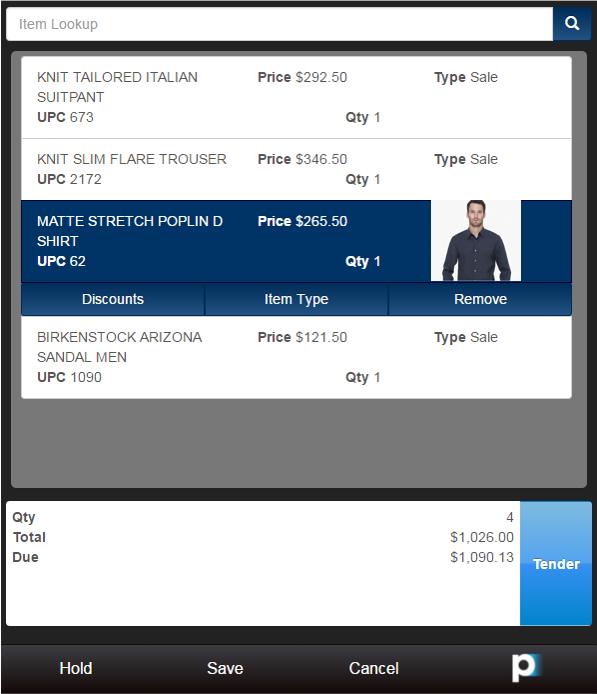 Retail Pro Software - Generate shopping bills