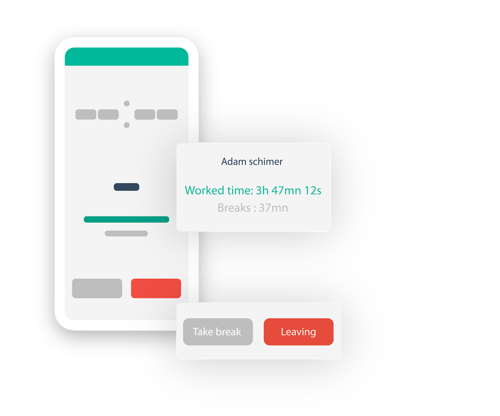 Employee Time Tracking via Papershift App