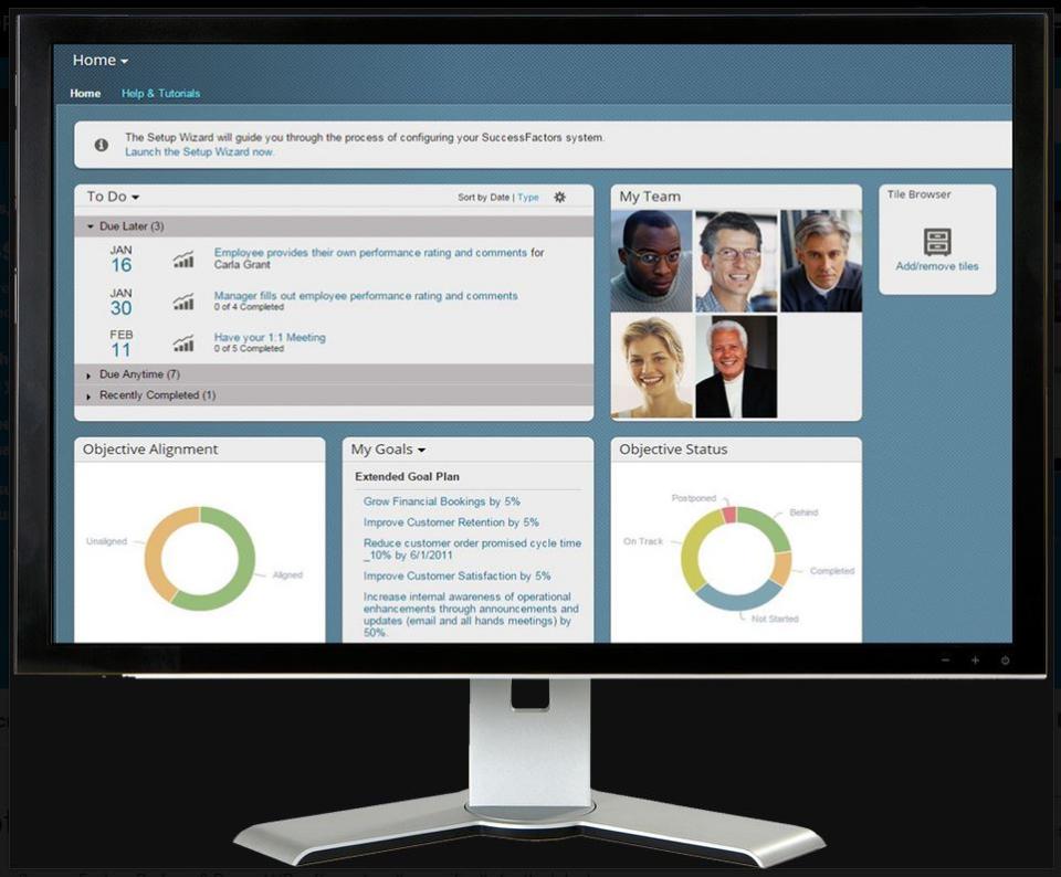 SAP SuccessFactors HCM Suite Logiciel - 1