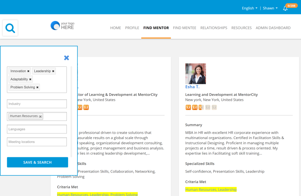 MentorCity Software - 2