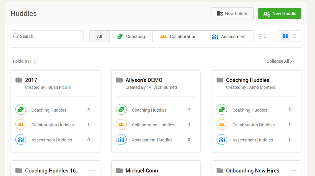 Sibme Software - Sibme collaborative huddles