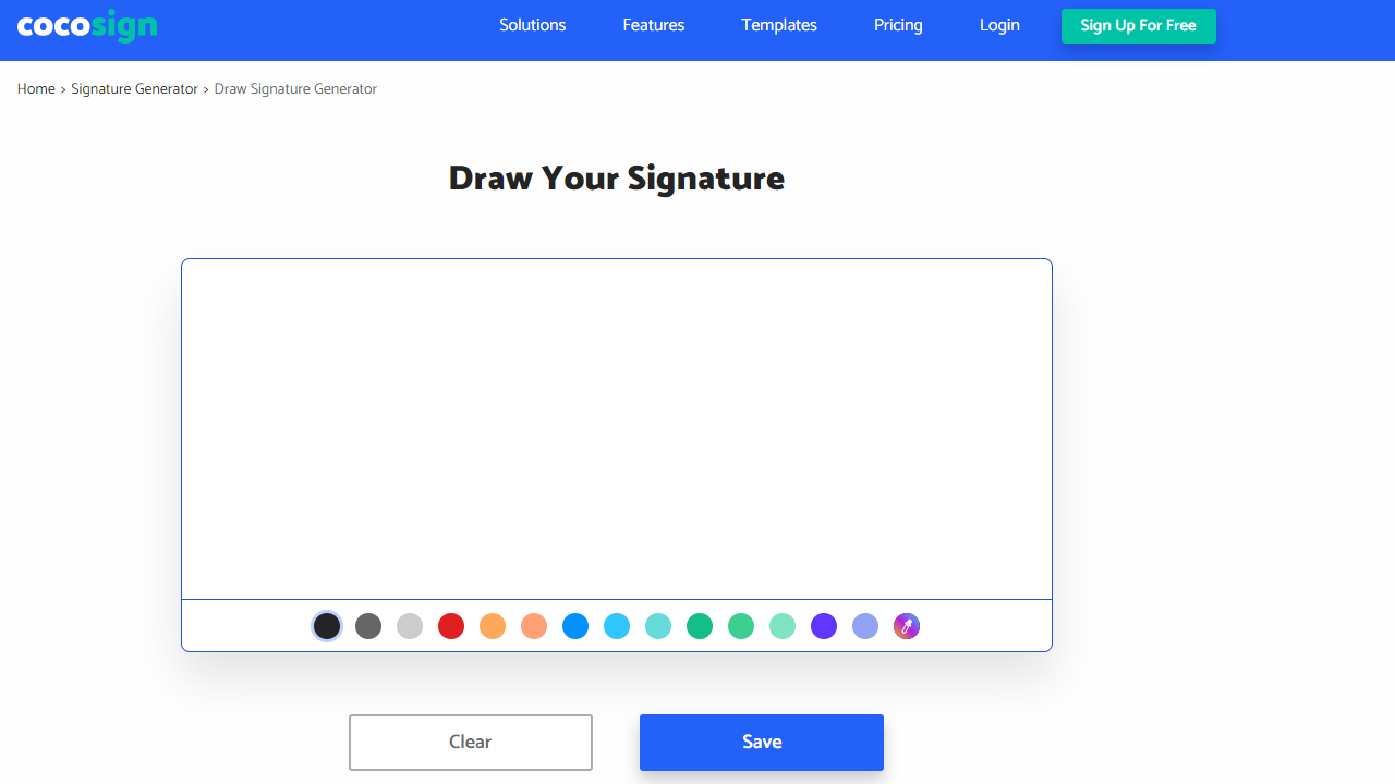 Draw Your Signatures