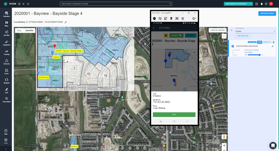 Vizzn Software - Site Maps