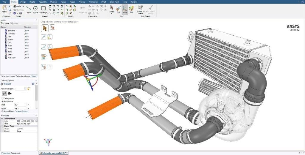 Ansys SpaceClaim Software - 1