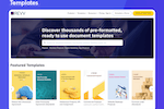 Revv Software - READY-TO-USE TEMPLATES - Get access to thousands of legally vetted, pre-formatted, and beautiful templates for every business need.