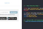 RingCaptcha screenshot: App download link