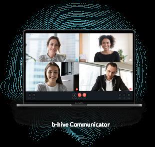 BroadVoice Cloud PBX Software - Communicator - Laptop 4 Up