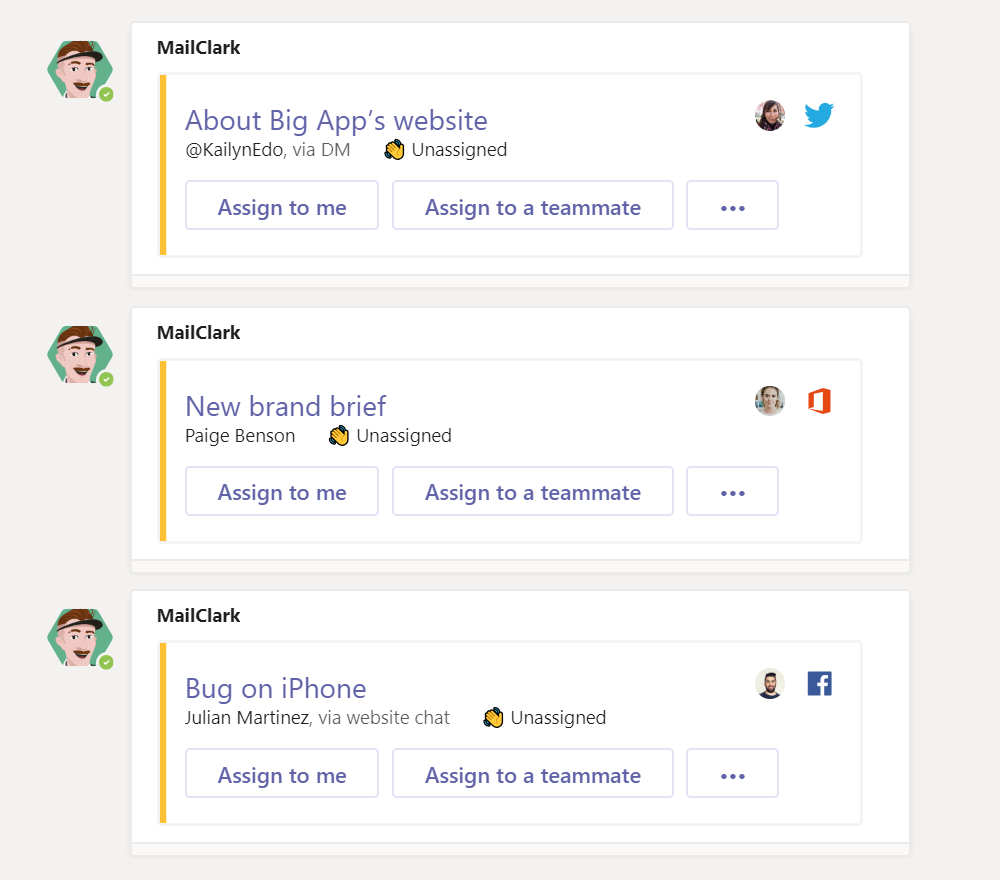 MS Teams - Get all your external messages into your Microsoft Teams