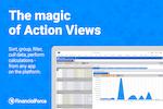 FinancialForce Accounting screenshot: Actions views