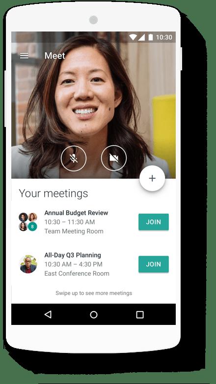 Google Workspace meetings