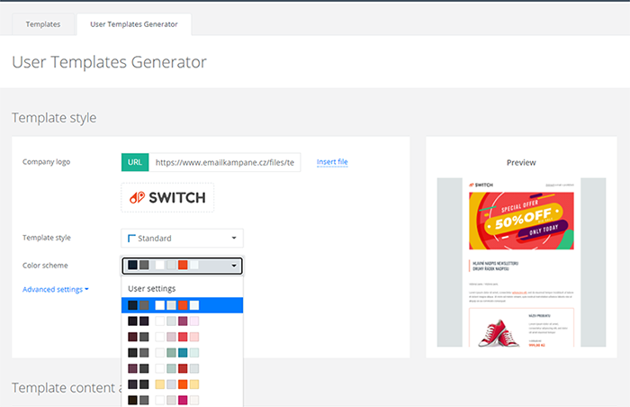 In case you are seeking for latest design trends in email marketing, try our User Templates Generator. Save your time, money and nerves.