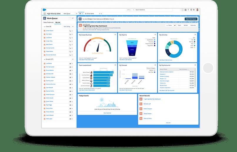 Salesforce Sales Cloud Logiciel - 1